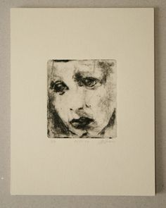 Drypoint etching 11.10.14 by mrchurchyard on Etsy