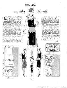 Robe du soir (La Femme de France 07/11/1926)