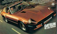 1981 Datsun 280ZX classic magazine advertisement