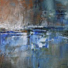 umj.art - Ulla Maria Johanson: 2018-03-03 #1209Frozen GroundAcrylic on board, 1...