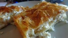 Greek Recipes, Diet Recipes, Cooking Recipes, Recipies, Greek Pastries, Filo Pastry, Good Food, Yummy Food, Greek Cooking