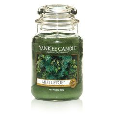 Mistletoe™: Yankee Candle: The woody scents of mistletoe, berries, pine boughs, and holly create this holiday tradition. Candle Set, Candle Jars, Natura Plant, Scented Candles, Yankee Candles, Scented Wax, Candle Accessories, Candle Diffuser, Christmas Candles