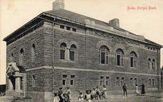 Bodø. Barn ved Norges Bank. Eneret:Kiosken,Bodø. Stmp.-1910.