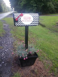 PERSONALIZED Chevron Magnetic Mailbox by embellishboutiquellc, $16.99
