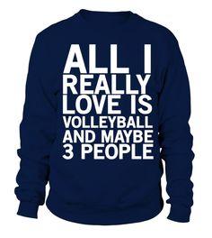 Volleyball volley love team beach player tshirt