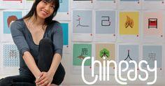 """ShaoLan Hsueh es el nombre de la mujer que decidió inventar un método para aprender a hablar Chino de una manera mucho más sencilla a la manera tradicional. Fue gracias al nacimiento de sus hijos que surgio la idea de hacerlo de una manera universal, con elemetos visuales que todo el mundo pudiera asociar y reconocer fácilmente. Mira este video y descubre como podemos aprender chino en unos cuantos minutos gracias a su invento """"Chineasy"""" ¡Genial! COMPARTE"""