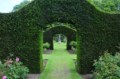At Castle Howard in York, UK, There are Hornbeam Hedges That Allow You to Pass Through Without Having to Deal With a Door or a Gate, Isn't That Great?
