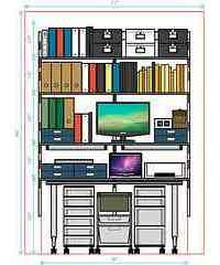 DIY Closet Office Tips: Get Organized With A Closet Office Conversion! Small Space Office, Home Office Space, Home Office Decor, Office Furniture, Office Ideas, Desk Ideas, Office Designs, Room Ideas, Closet Conversion