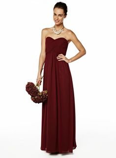 1c0a4886f0a Darcy Merlot Long Dress - shop by colour - Wedding Bridesmaids And  Groomsmen