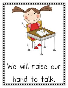 Classroom Rules Posters and Misc. Freebies
