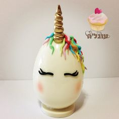22 Ideas Chocolate Cake Ideas Decoration Easter Eggs For 2019 Unicorn Egg, Unicorn Party, Easter Chocolate, Chocolate Art, Easter Cookies, Easter Treats, Egg Cake, Chocolate Sculptures, Creme Egg