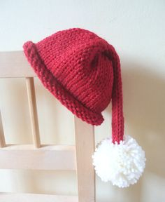 Preemie Premature Baby Santa Hat  Father by TheYarnOwlsNest