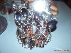 """""""weapons"""" forks&spoons"""