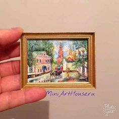 Evgeniya Yashina, Miniarthouse - Painting. Watercolor Hand made