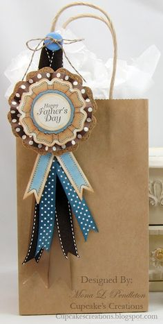 JustRite Father's Day Gift Bag designed by Mona Pendleton