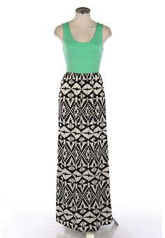 Maxi dress I bought this weekend from Blue Skies Shop   jennycollier.com