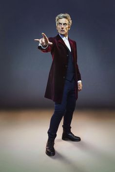 Who: 6 previous meetings between the Doctor and THAT returning villain Peter Capaldi as the Doctor.Peter Capaldi as the Doctor. Doctor Who Season 9, Doctor Who 12, 12th Doctor, Doctor Who Cosplay, Doctor Coat, The Great Doctor, Twelfth Doctor, Clara Oswald, Christopher Eccleston