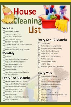 Ideas for daily cleaning list printable ideas Monthly Cleaning Schedule, House Cleaning Checklist, Clean House Schedule, Weekly Cleaning, Deep Cleaning Tips, Cleaning Solutions, Toilet Cleaning, Car Cleaning, Spring Cleaning