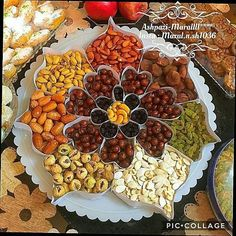 Ramadan, Fruit Sec, Party Food Platters, Tea Snacks, Creative Food Art, Brunch Table, Fruit Arrangements, Veggie Tray, Indian Sweets