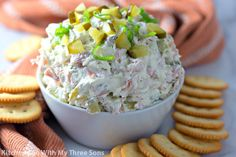 Dill Pickle Dip Best Christmas Appetizers, Great Appetizers, Appetizer Dips, Appetizer Recipes, Party Appetizers, Shrimp Appetizers, Party Snacks, Christmas Holiday, Crab Dip Recipes