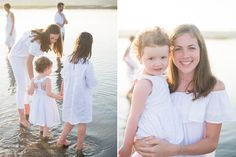 Maine family beach portrait on Drakes Island photographed by Brea McDonald Photography. Nantucket Beach, Family Beach Portraits, Extended Family, Maine, Flower Girl Dresses, Wedding Dresses, Photography, Fashion, Bride Dresses