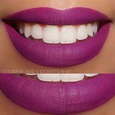 Vintage Liquid Lips by @anastasiabeverlyhills I  #Anastasia #Vintage #liquidlipstick #makeup #lips #mua #pampadour