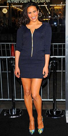Check out the head-turning outfits Claire Danes, Miranda Kerr and more stars were just spotted in! Look Fashion, Autumn Fashion, Womens Fashion, Paula Patton Bikini, Beautiful Goddess, Sexy Legs And Heels, Jennifer Hudson, Celebrity Portraits, Night Looks