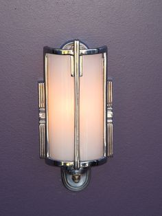 Vintage chrome bathroom wall light vintagelights.com | Flickr - Photo Sharing!