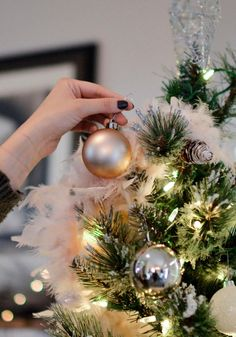 I love decorating trees. I hope you will find these tips for decorating a Christmas Tree helpful. You can use the same process for any style tree, with your favorite decorations and ornaments. #ourcraftymom #christmastrees #christmastreedecor Pretty Christmas Trees, Christmas Wreaths, Christmas Bulbs, Christmas Decorations, Holiday Decor, Christmas Crafts, Battery Powered String Lights, Led String Lights, Camping Pod