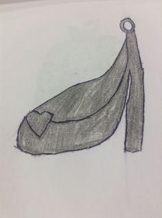 Cinderella's glass slipper charm