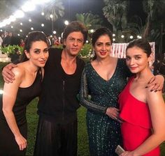 Bollywood celebs (srk with karishma kapoor, sridevi and Alia bhatt). Bollywood Stars, Bollywood News, Bollywood Fashion, Bollywood Actress, Bollywood Gossip, Indian Celebrities, Bollywood Celebrities, Movie Hall, Sanjay Kapoor