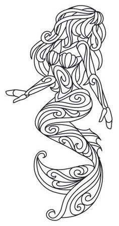 Weekly Coloring Pages. Everyone knows Ariel's color palette, but I changed it up and made her look African American.