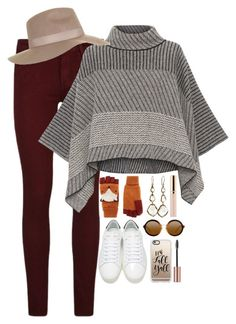 """""""Fall Y'all🍂"""" by sofia-collins8 ❤ liked on Polyvore featuring Paige Denim, Piazza Sempione, Topshop, Accessorize, Yves Saint Laurent, Ippolita, Beautycounter and Casetify"""