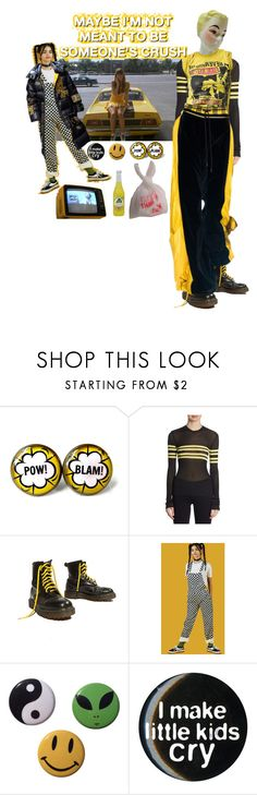 """""""DREW BARRYMORE"""" by treasurewhatever ❤ liked on Polyvore featuring MSGM and Yellow Jacket"""