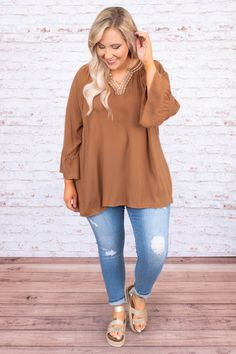 Let's Be Adventurous Top, Camel Plus Size Fall Outfit, Plus Size Fall Fashion, Plus Size Outfits, Casual Outfits Summer Classy, Womens Fashion Casual Summer, Casual Ootd, Trendy Outfits, Plus Size Goth Clothes, Plus Size Clothing Online