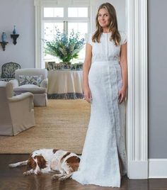Effortless, feminine, modern - Aerin Lauder describes her style in Mark Sikes blog.