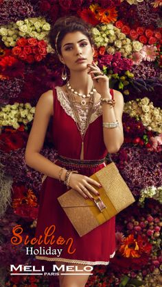Meli Melo New Summer Campaign 2014 Paris Summer, Summer Campaign, Meli Melo, Sicilian, Summer Collection, All Things, Sari, Holiday, Jewelry