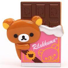Rilakkuma Rilakkumarket brown bear chocolate clip peg