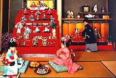 Japan: Girls Day/ Doll Festival - Hina Matsuri on March 3 #culture #Japan #kid