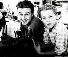 Leonardo DiCaprio & David Arquette (1990-1991)
