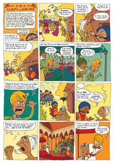 Wali Dad Episode 2: A Traditional Punjabi Tale.  In The Phoenix Issue 104