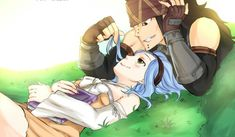 I just can't get over how cute they are together... #GaLe is life #Gajeel #Levy