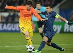 Thiago Silva block Messi