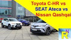 Car Review - Toyota C-HR Vs SEAT Ateca Vs Nissan Qashqai - Read Newspape...