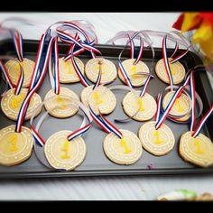 Medal cookies - Olympics party