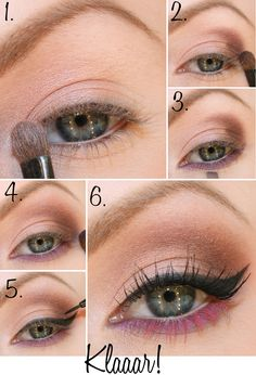 pink lower lashes