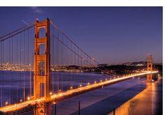 Golden Gate Bridge Night View