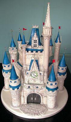 DisneyWorld Castle cake, waaant
