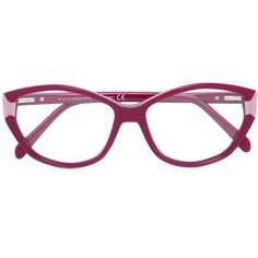 68baa42212 Emilio Pucci cat eye optical glasses ( 320) ❤ liked on Polyvore featuring  accessories