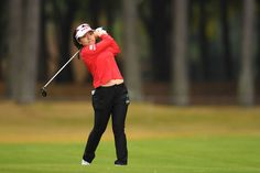 Pei-Ying Tsai Photos - Pei-Ying Tsai of Taiwan hits her second shot on the 17th hole during the second round of the TOTO Japan Classics 2017 at the Taiheiyo Club Minori Course on November 4, 2017 in Omitama, Ibaraki, Japan. - TOTO Japan Classics 2017 - Round Two